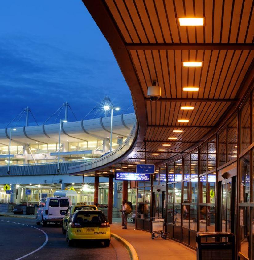 Anchorage Airport entrance