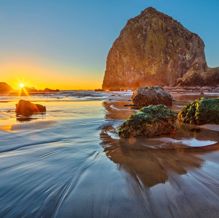 Travel between Portland and Cannon Beach