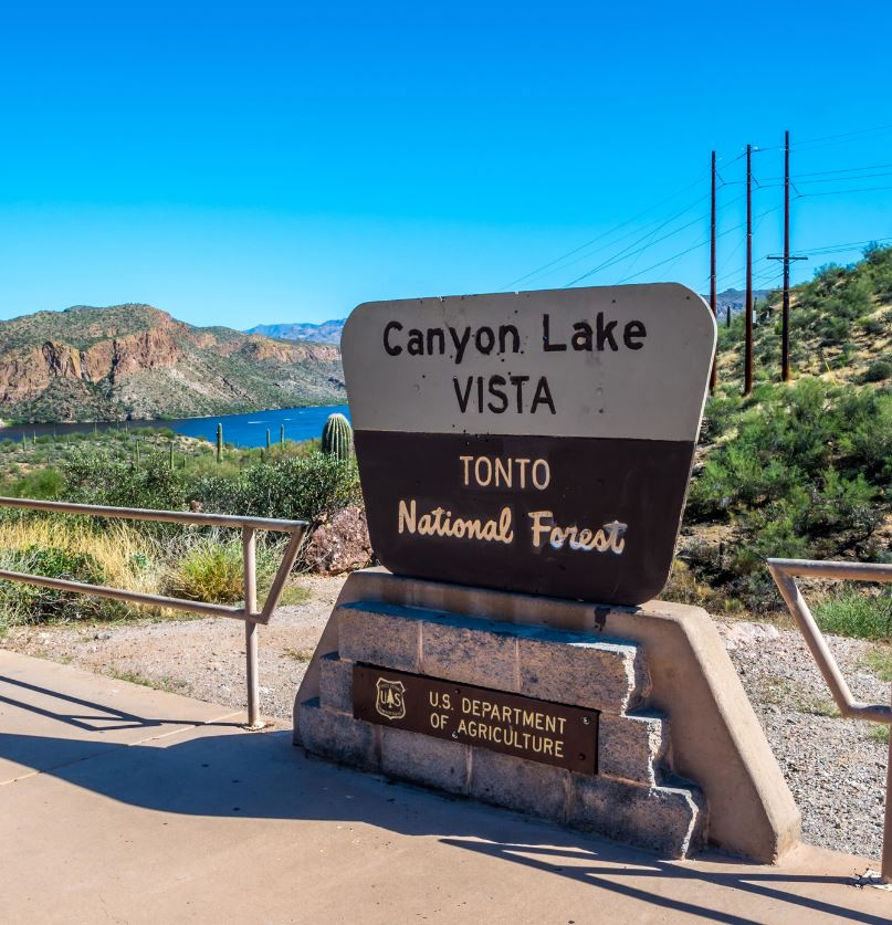 Canyon Lake Vista Point