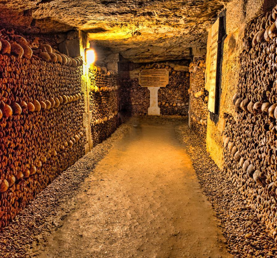 Catacombs in Paris