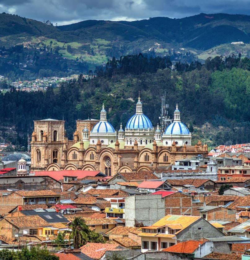 Cathedral in Cuenca Ecuador