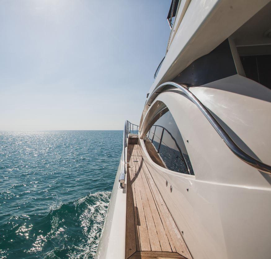 Fancy Yacht in Thailand