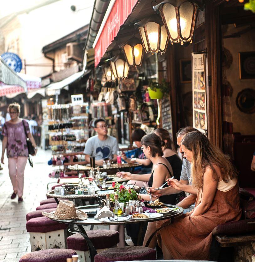 Foodie tourism