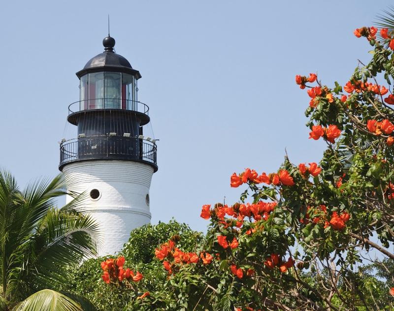 Key West lighthouse Florida