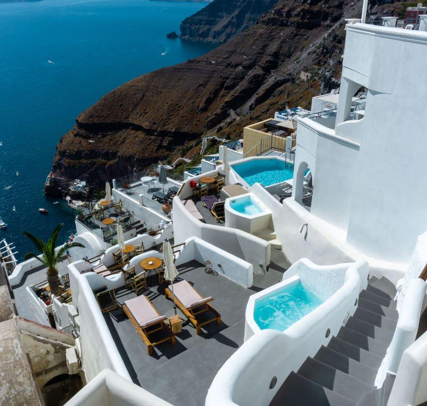 Santorini Pools