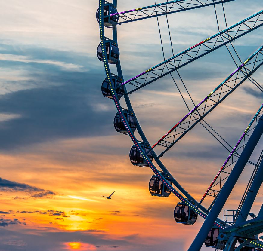 Take a ride on the Seattle Great Wheel