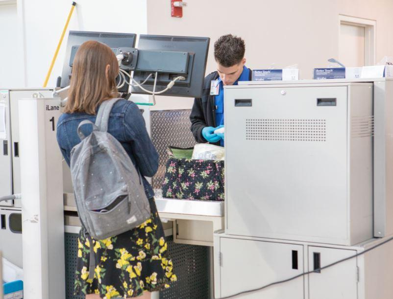 TSA search