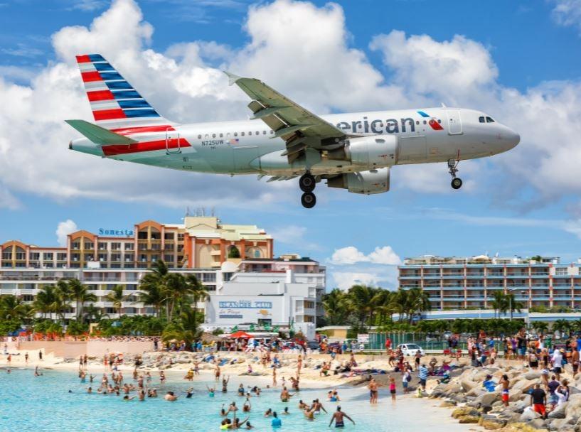 american airlines st maarten