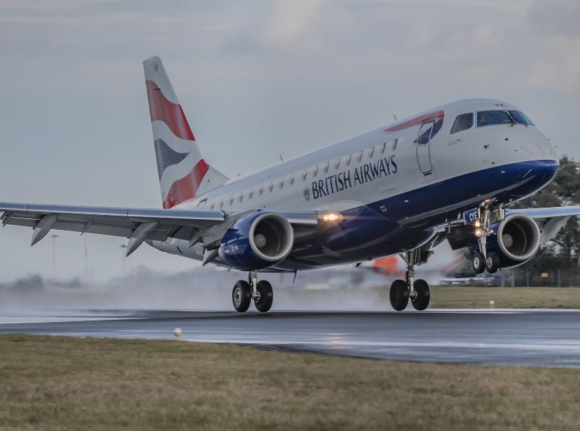 ba british airways flight