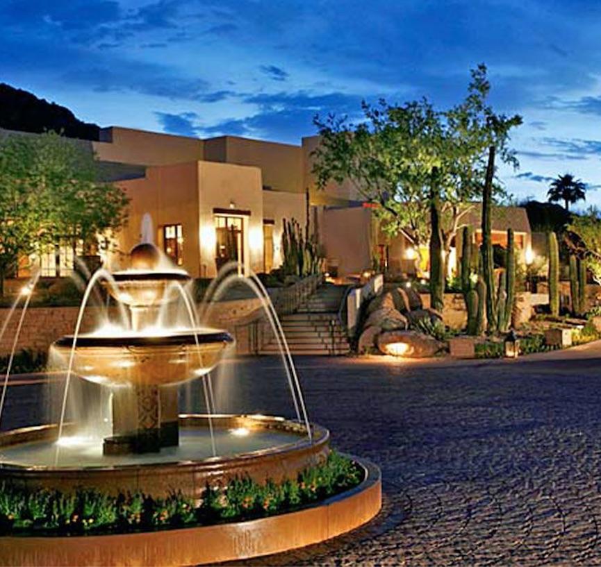 camelback inn resort and spa arizona fountain