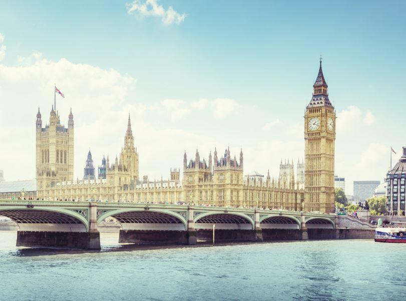 london big ben houss parliament river thames