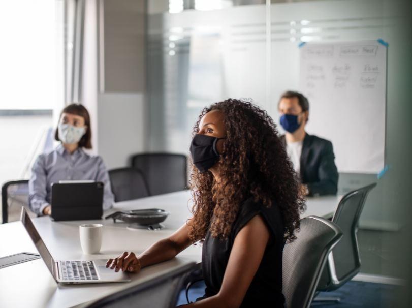 meeting business masks