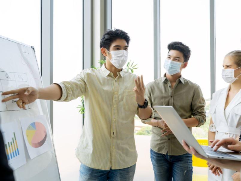 meeting presentations masks