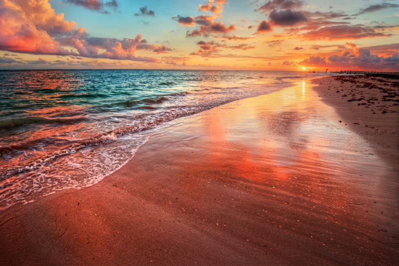 pink sunset anguilla