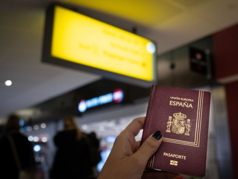 spain passport