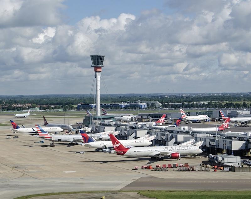 terminal 3 at Heathrow Airport