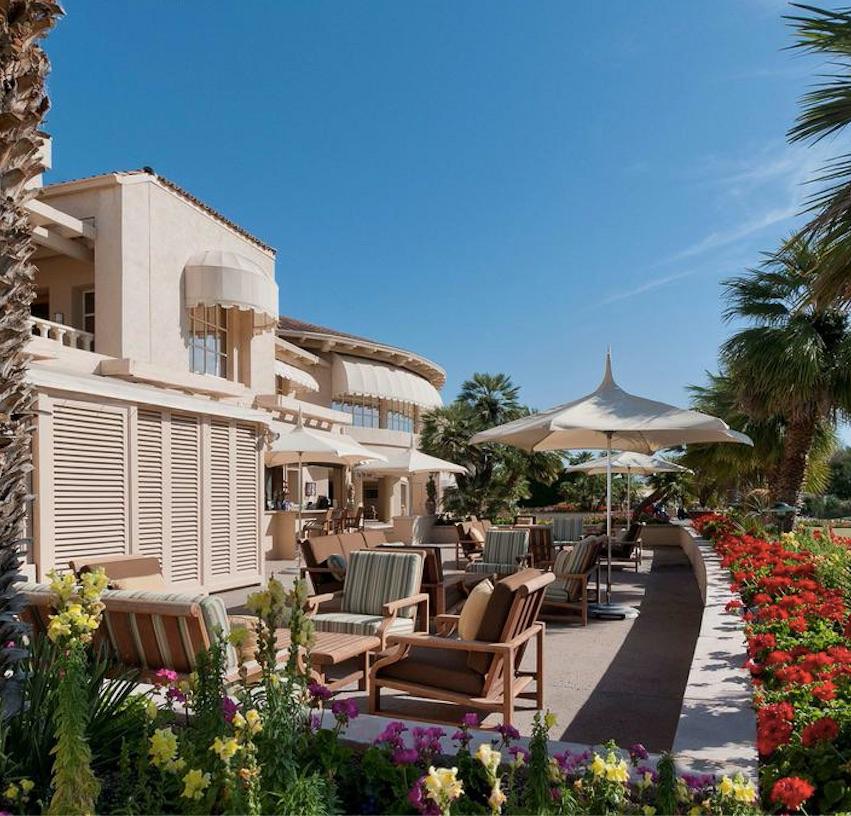 the phoenician resort flowers private deck arizona