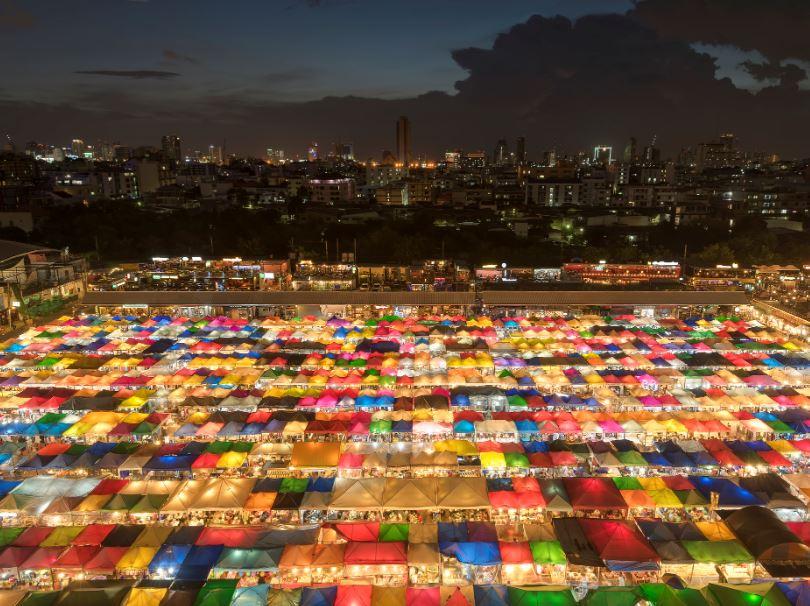 train market bangkok