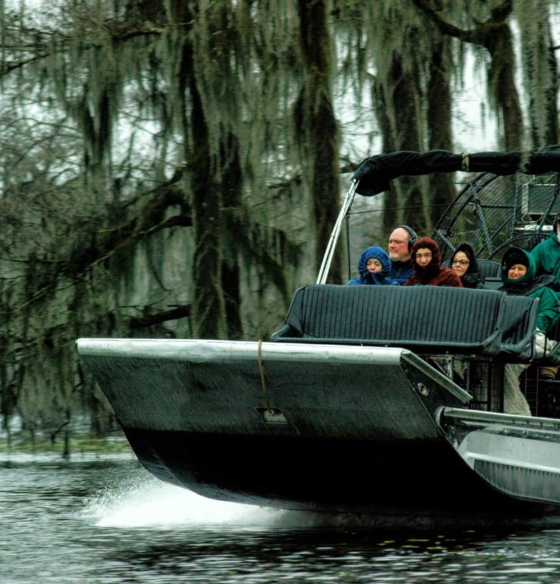 Go On An Airboat Tour