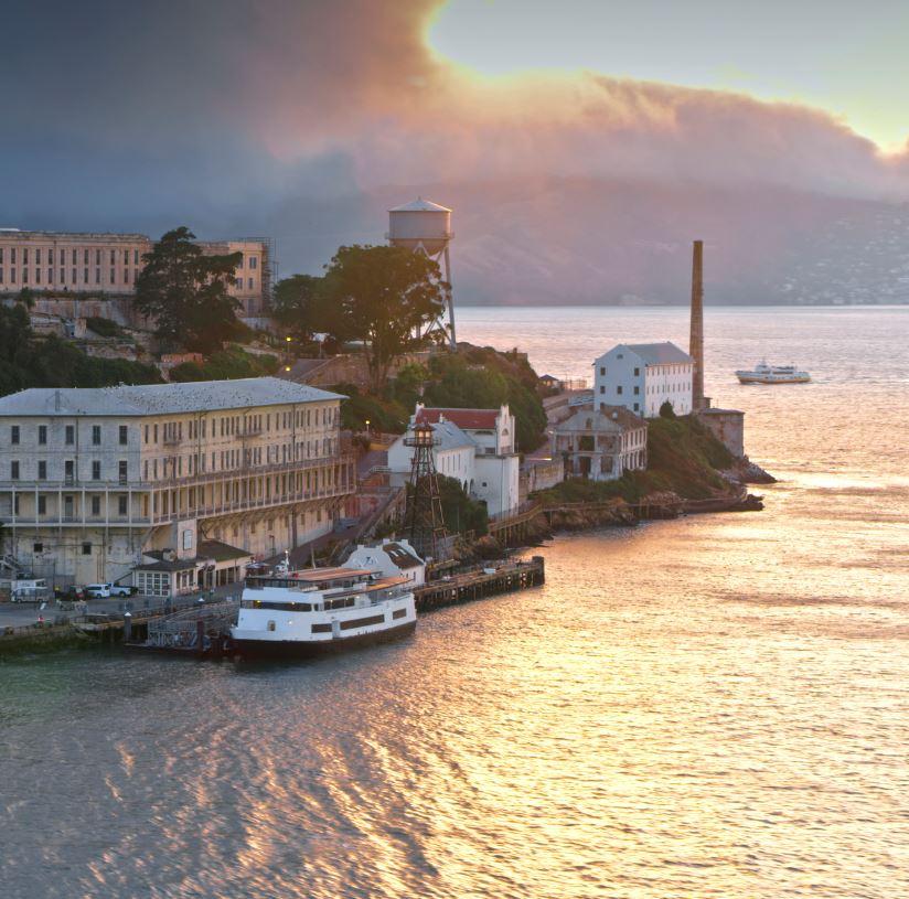 Take a Ferry To Alcatraz Island