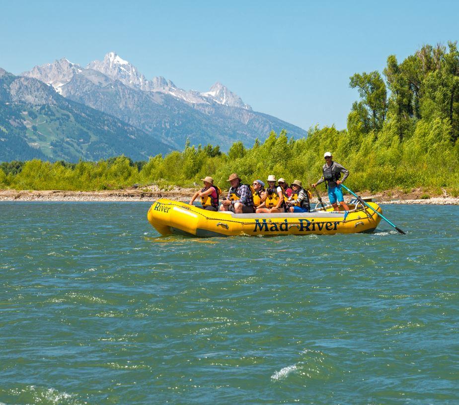 Boat on Snake River