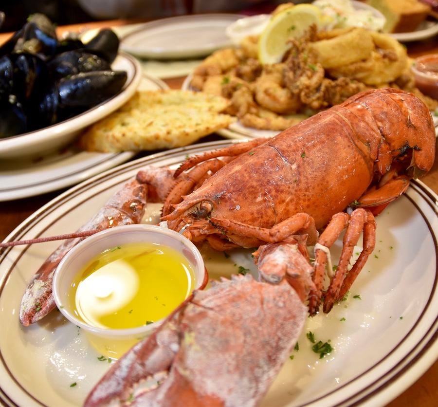 Bottom lobster