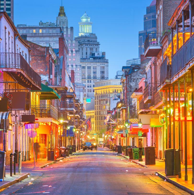 Visit Bourbon Street