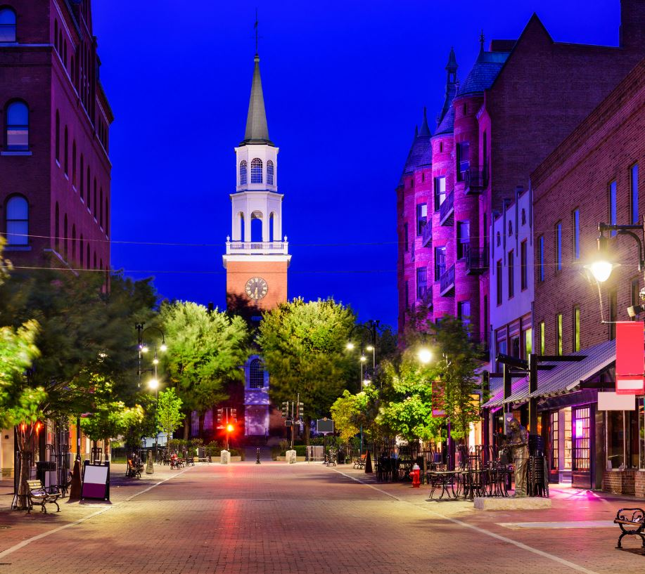 Street, Burlington, Vermont
