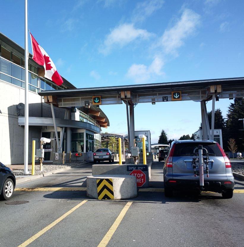 Canada border inspection