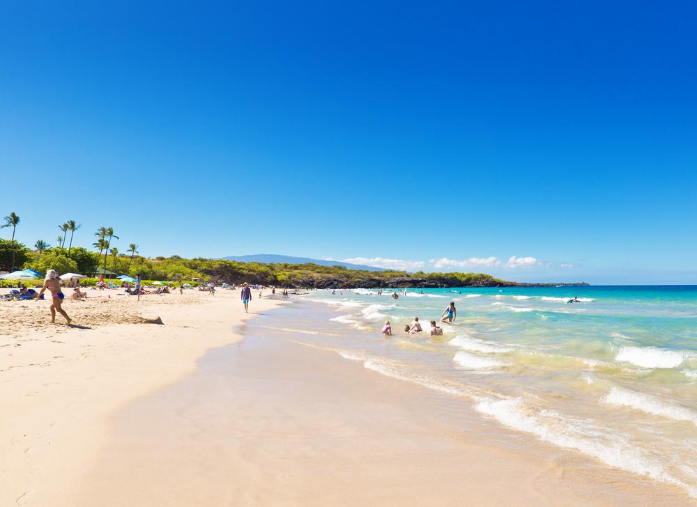 Hapuna Beach.