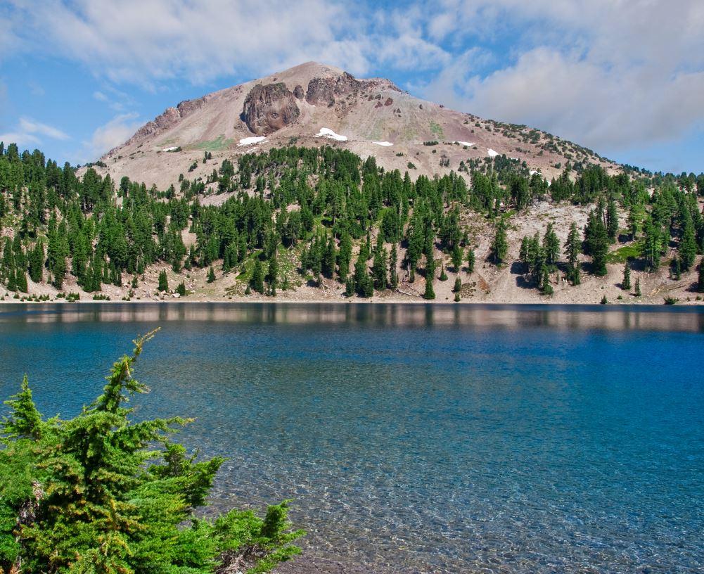Lassen Peak volcano, California