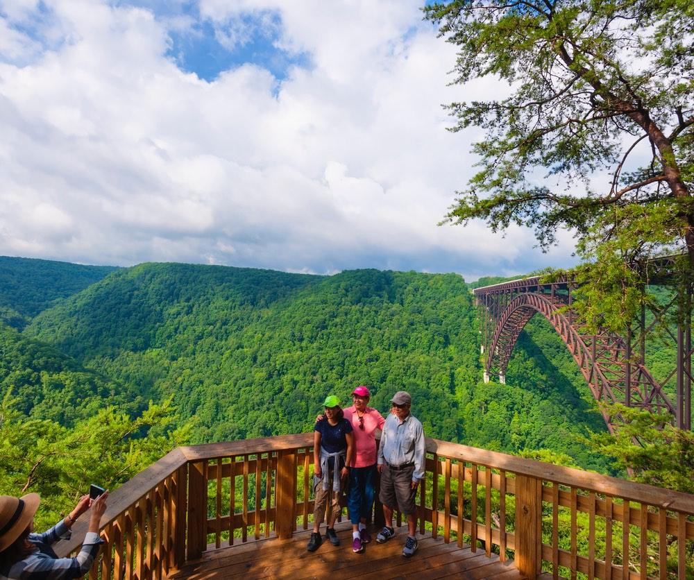 New River Gorge Observation area
