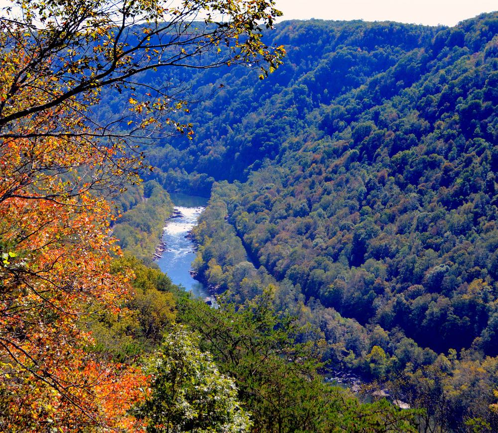 New River Gorge West Virginia.