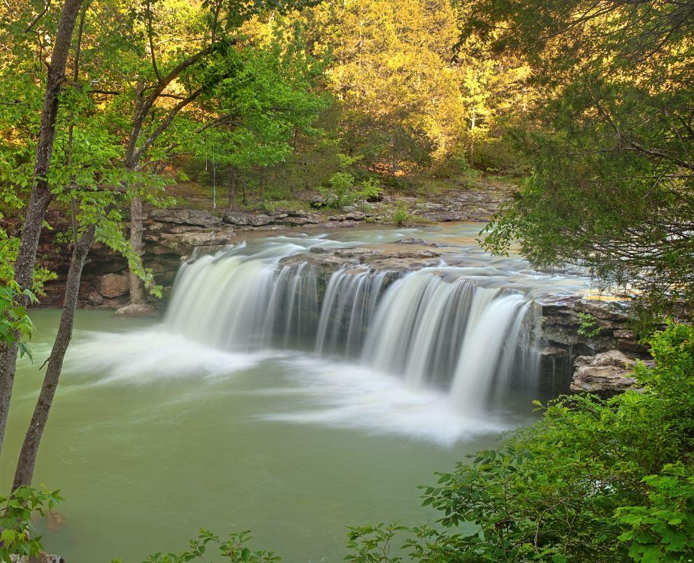 Orzaks waterfall