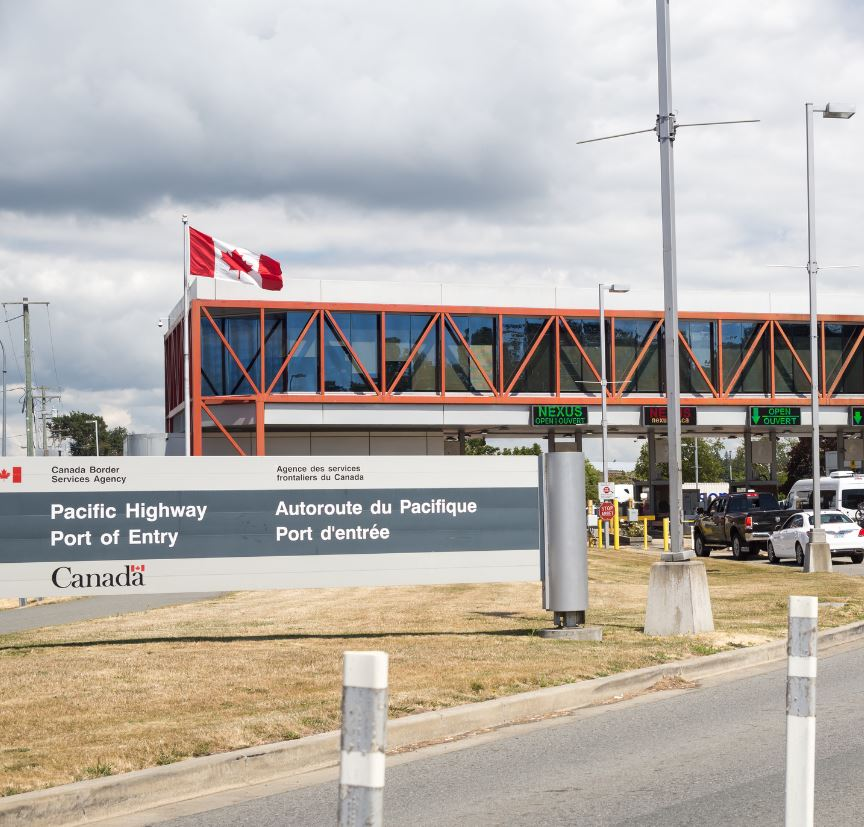 Canada port of entry