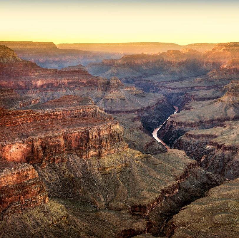 View the Grand Canyon from The Rim Trail