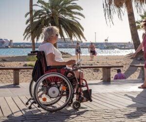 Wheelchair in Tenerife, Spain