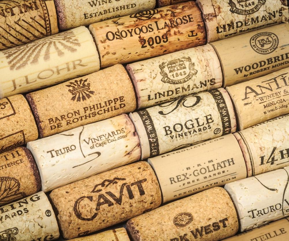 Wine Corks from Massachusetts.Wineries