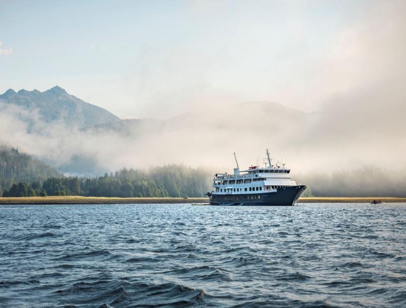alaska ship cruise fog