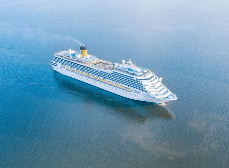 cruise ship ocean sea