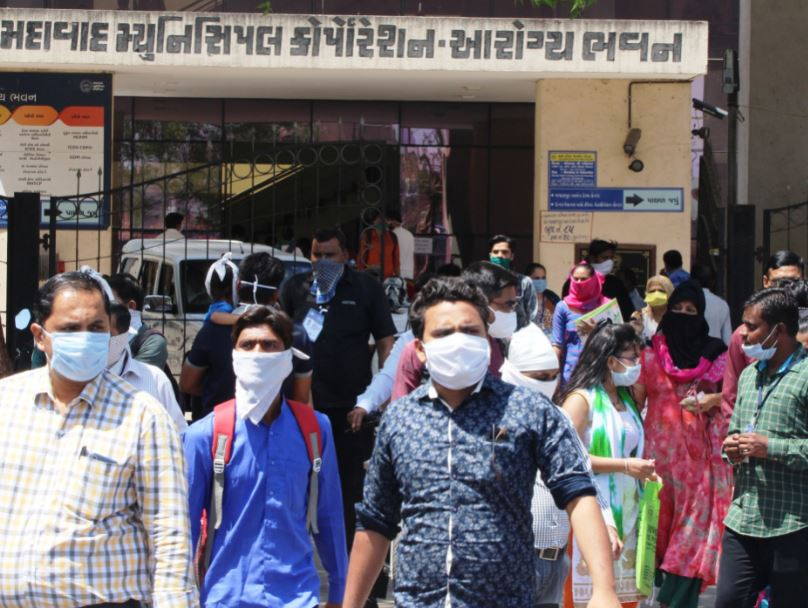 india covid masks