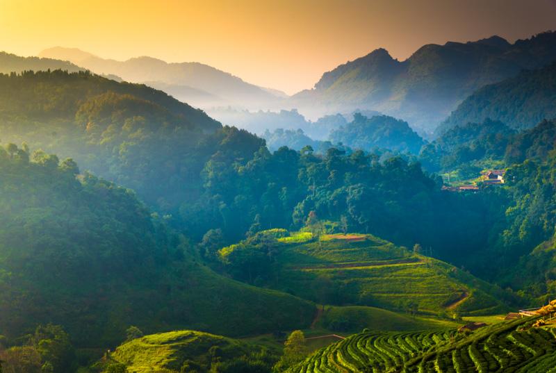 mountains in thailand