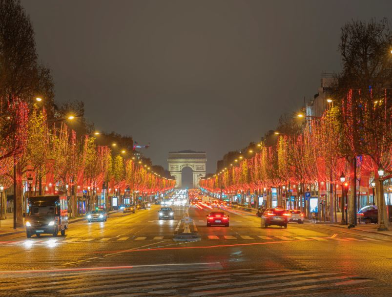 Rue Paris France