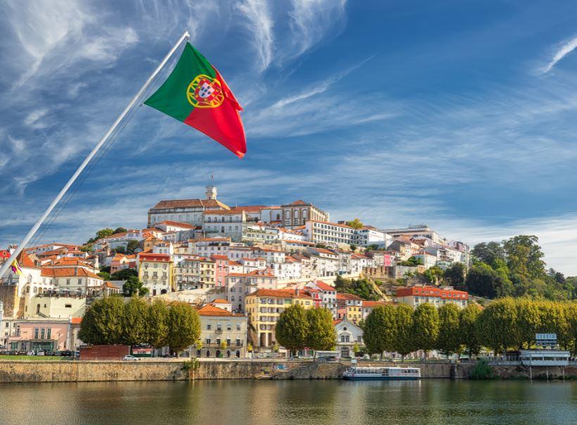portugal flag river