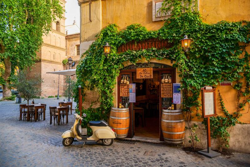 rome streets italy