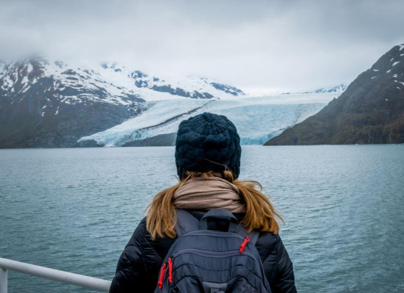 woman travelers alaska cruise