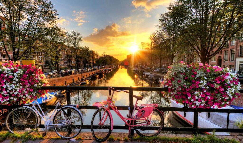 Amerikaanse reizigers kunnen nu op vakantie in Nederland