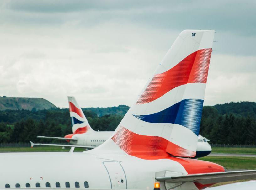 BA airplanes