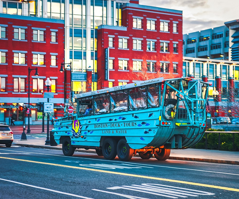 Boston Duck Tours.