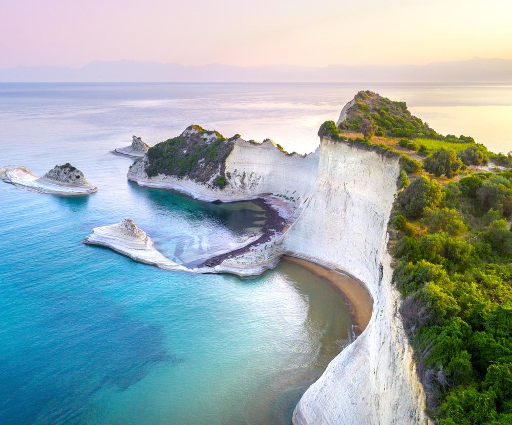 Cape Drastis, Corfu Island, Greece